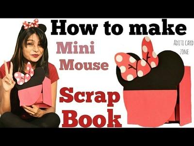 Cutest Handmade Scrapbook Ever | Easy How To Make | Mini Mouse Scrapbook