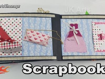 DIY 14 Card Scrapbook Tutorial | Mother's Day Special | JK Arts 1221