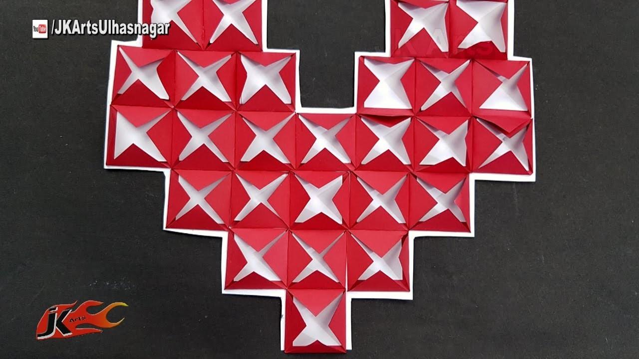 DIY 26 Reasons I Love You heart shape card | JK Arts 1213