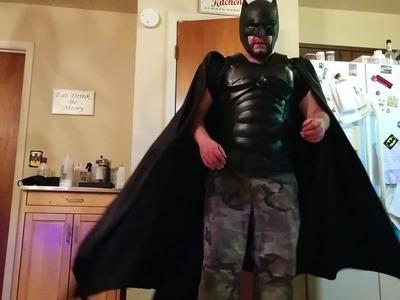 DIY Batman upper armor build tutorial part 1