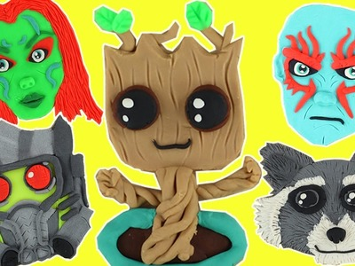 DIY: Best Of Play Doh Guardians Of The Galaxy ????  Crafts Compilation (Tutorial Video) ???? Crafty Kids