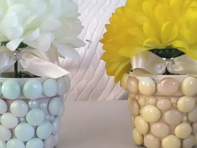 DIY| DOLLAR TREE MINI FLOWER CENTERPIECE 2017