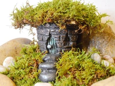 DIY Fairy House and Garden Tutorial