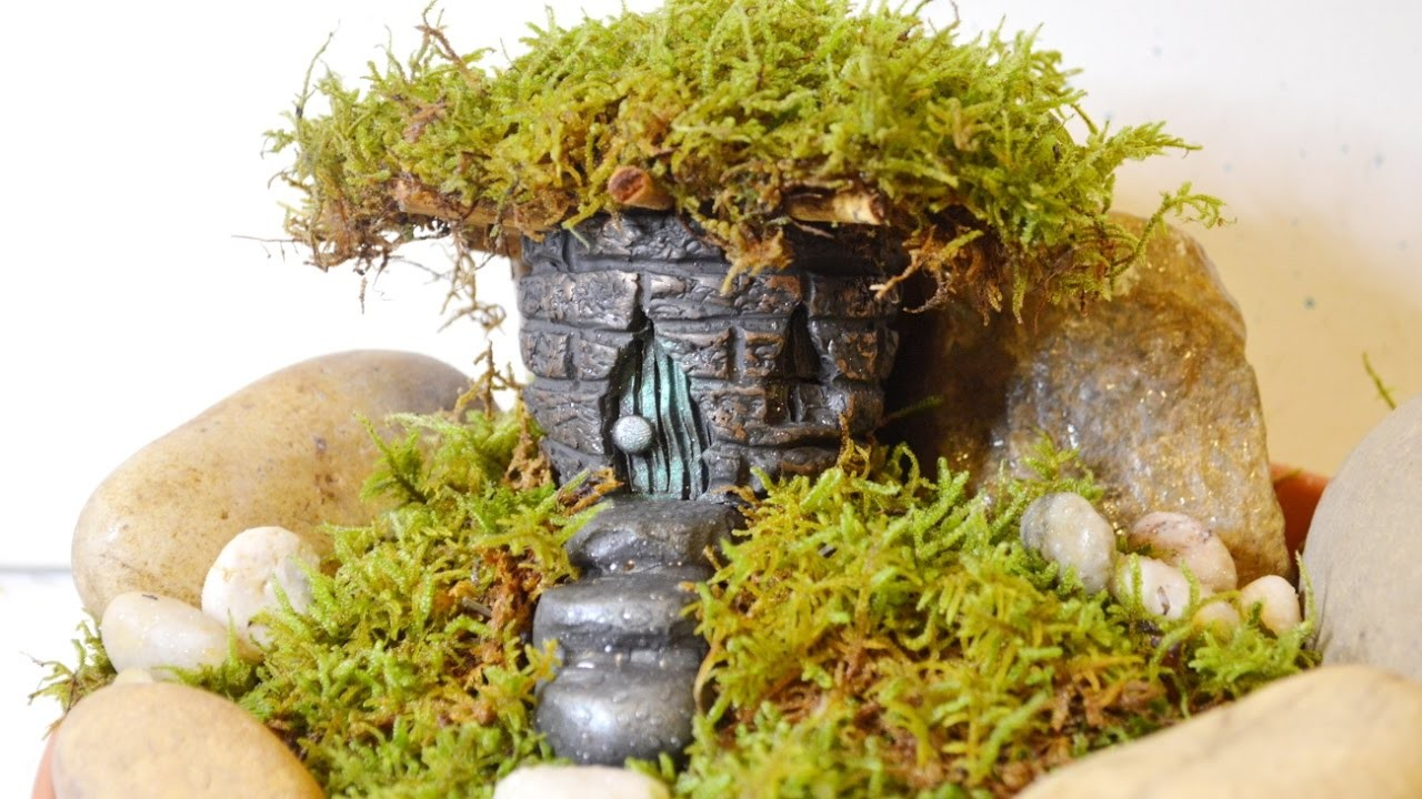 how to make a fairy house for my fairy garden