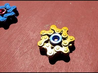DIY fidget spinner - How to make a Star Chain Spinner - hand spinner tutorial