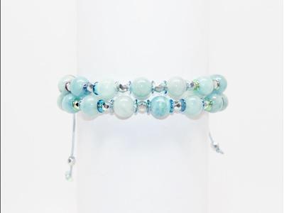DIY Gemstone Bead Bracelet Tutorial