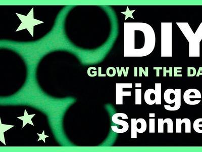 DIY Glow in the Dark Fidget Spinner using Polymer Clay!