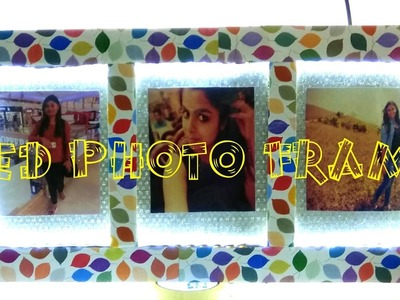 DIY - How to Make a Glowing Led Photo Frame From Cardboard