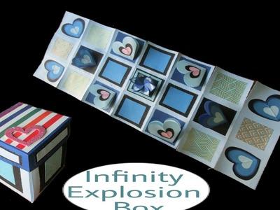 DIY - Infinity Explosion Box For Birthday | Birthday Explosion Box