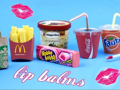 DIY Lip Balm {Easy}! 5 Miniature Starbucks,Soda,McDonalds & Bubblegum Lip Gloss DIYs-Lip Balm How To