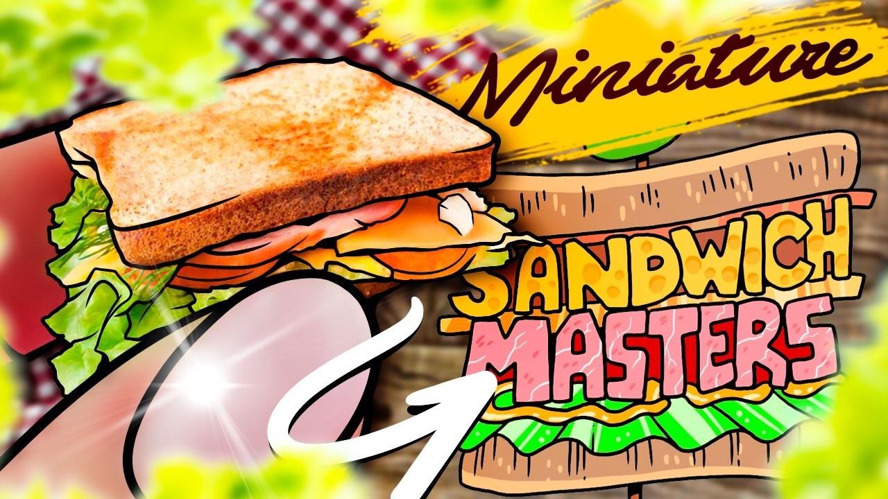DIY Miniature Sandwich Bread and Sandwich DIY - Food - Miniature Cooking
