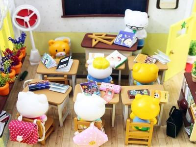 DIY Miniature School. Classroom