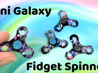 DIY Miniature Working Galaxy Fidget Spinner - How to Make