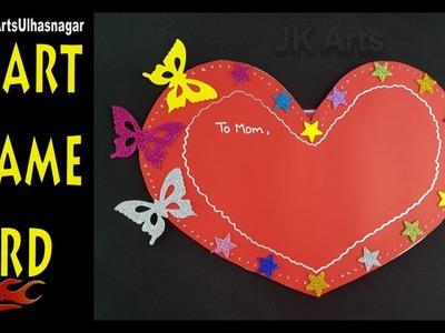 DIY  Mother's Day Photo Frame Card Tutorial | Gift for MOM | JK Arts 1218