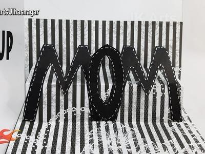 DIY Mother's day pop up card   Card for Scrapbook pages    JK Arts 1220