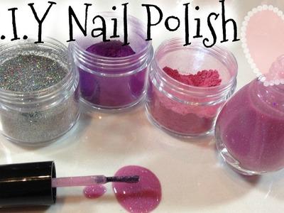 DIY Nail Polish Colors Tutorial & Clean Up Spilled Nail Polish Trick