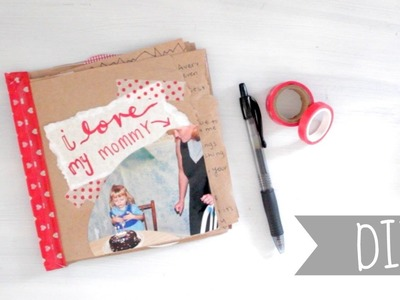 DIY Paper Book | Mother's Day