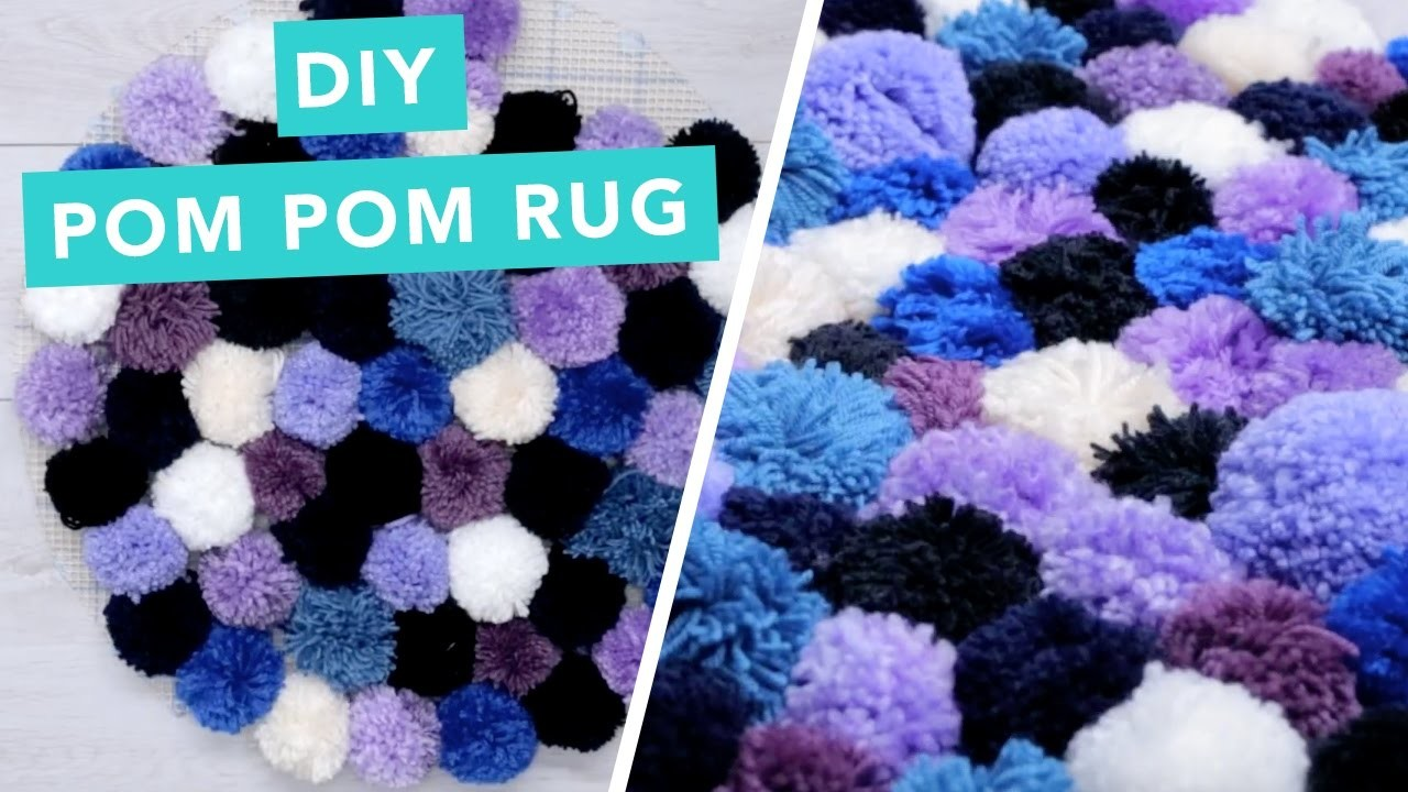 Diy Pom Pom Rug Nailed It