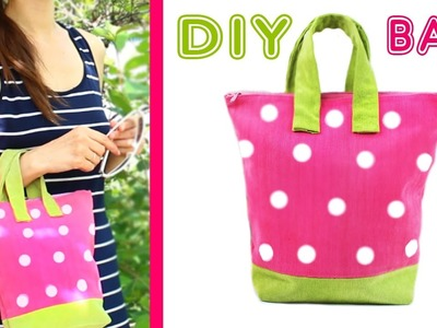 DIY PURSE TUTORIAL [SUMMER BAG From Scratch EASY] ???? Strawberry Handbag