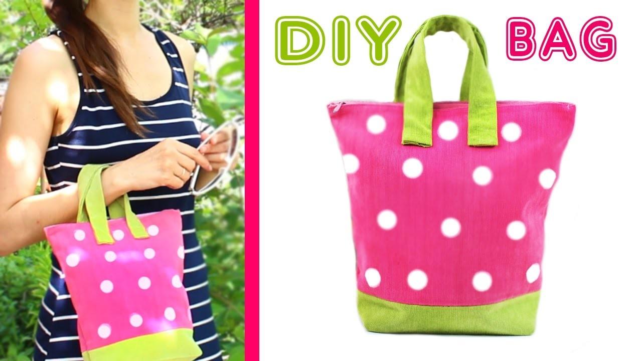 DIY PURSE TUTORIAL [SUMMER BAG From Scratch EASY] ???? Strawberry Handbag