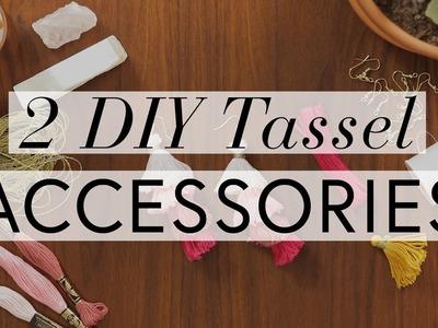 DIY Tassel Accessories | The Zoe Report By Rachel Zoe