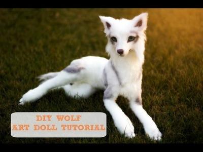Diy Wolf Art Doll Tutorial