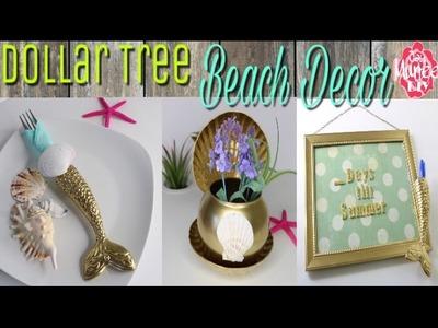 Dollar Tree DIY Beach Themed Decor | Collab ClassyCrafting&Parcels