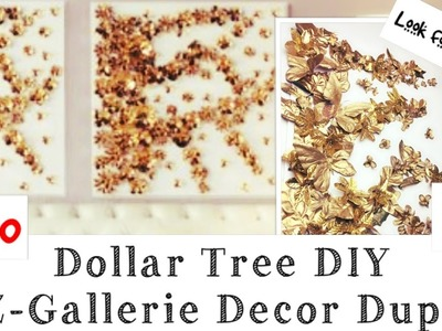 DOLLAR TREE DIY Wall Decor Z Gallerie Inspired #2 momma from scratch