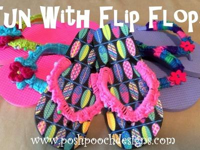 Fun With Flip Flops Crochet Pattern