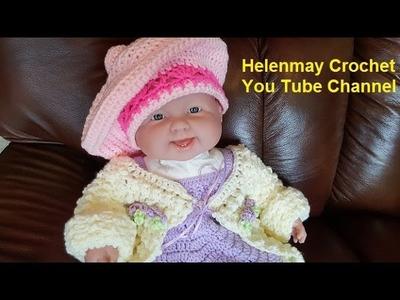 Helenmay Crochet Snapdragon Beret Hat DIY Video Tutorial