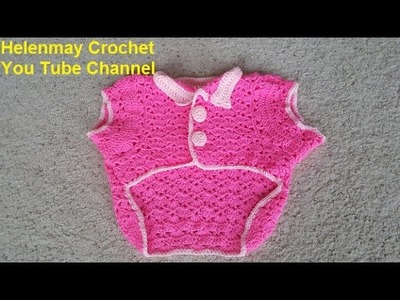 Helenmay Crochet Snapdragon Stitch Large Pet Outfit Part 1 of 2 DIY Video Tutorial