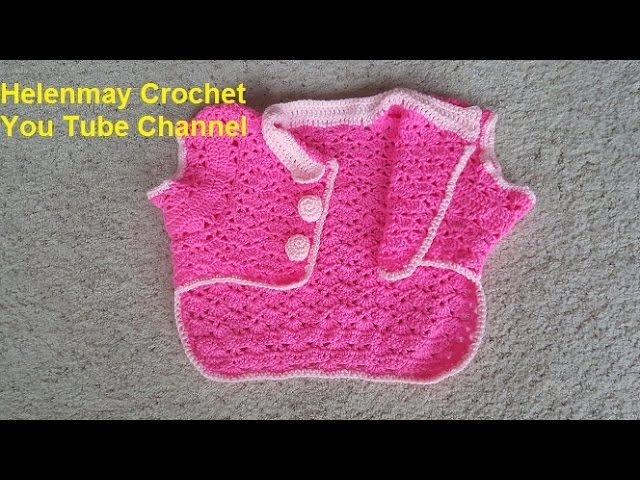 Helenmay Crochet Snapdragon Stitch Large Pet Outfit Part 2 of 2 DIY Video tutorial