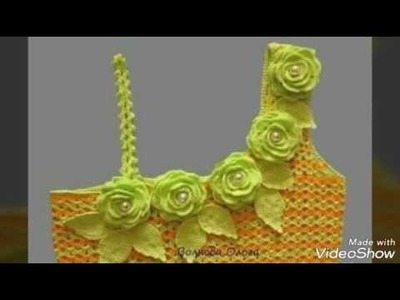 Hermoso vestido de verano en crochet - con patrones