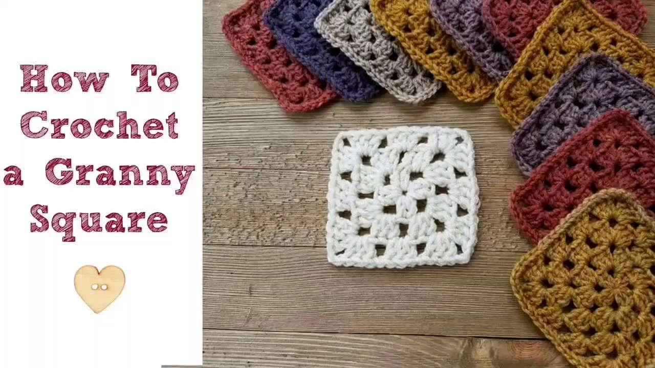 How To Crochet A Granny Square Beginners Tutorial : How to Crochet a Granny Square for Beginners, My Crafts ...
