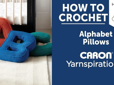 How to Crochet A Pillow  Letter B