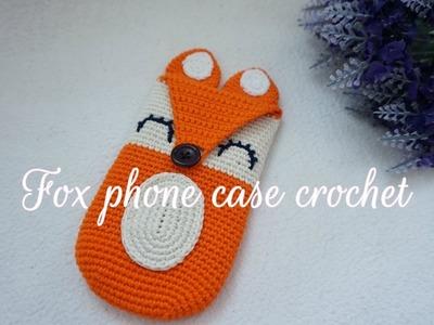 HOW TO CROCHET FOX PHONE CASE CROCHET