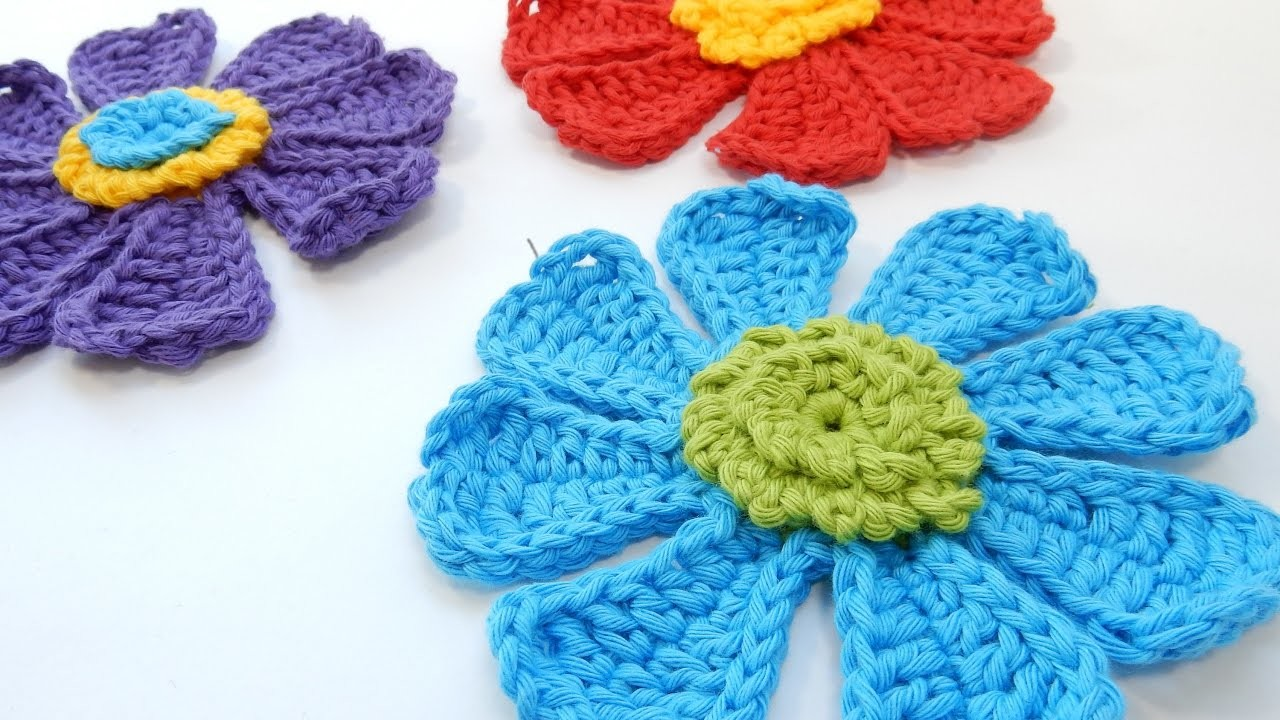 How to Crochet my Flower Power Bloom