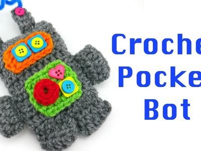 How To Crochet Pocket Bot, Episode 424
