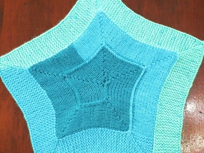 How to Loom Knit a 10 Stitch Star Blanket