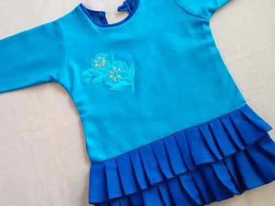 How to make a beautiful baby dress