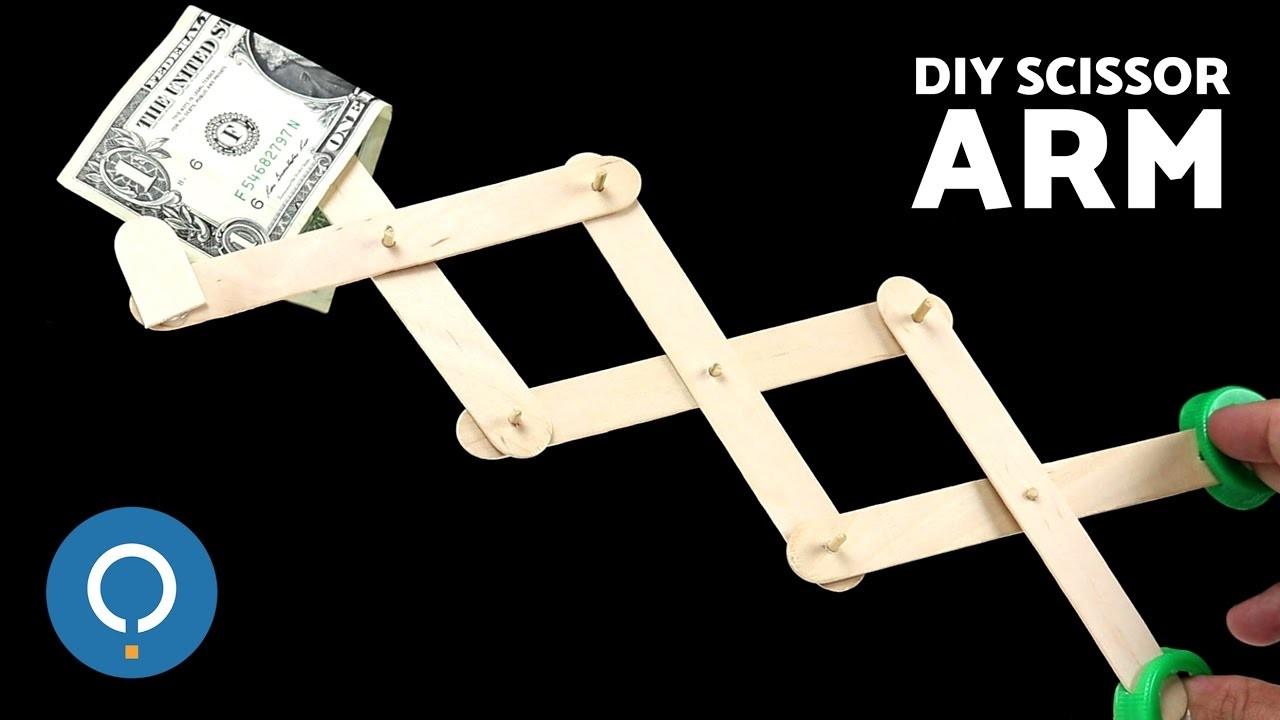How to Make a DIY Scissor Arm Easy and Simple