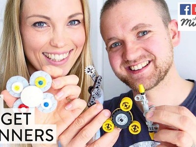 How To Make A Fidget Spinner | DIY Fidget Spinners Tutorial | Channel Mum