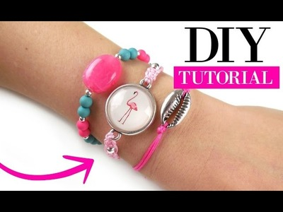 How To Make A Macrame Bracelet - DIY Video Jewelry Making Tutorial