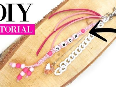 How To Make A Macramé Keychain -  DIY Video Jewelry Making Tutorial