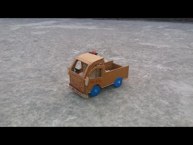 How To Make An Electric TATA ACE Mini Truck, DIY TATA TRUCK