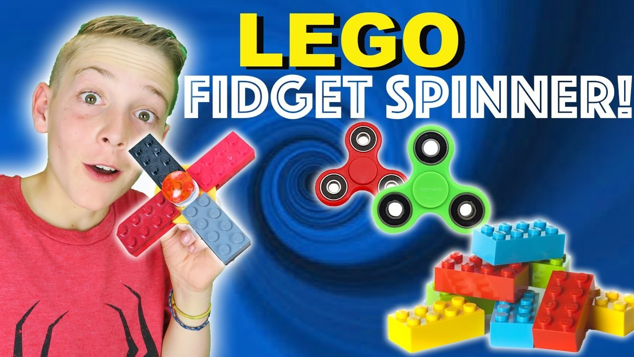instructions on how to make a lego fidget spinner