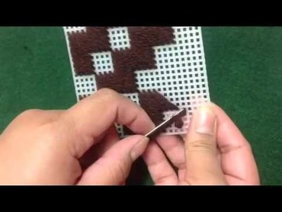 How to make Plastic canvas coasters #Part 2