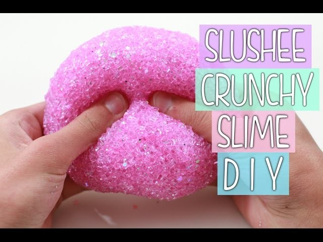 How to Make Slushee Slime | CRUNCHY SLIME DIY