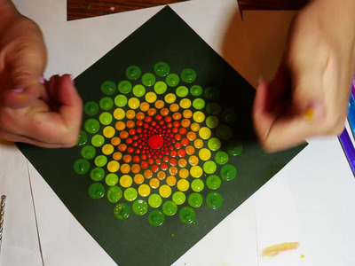 How to paint rock mandalas- tools and tips.part two