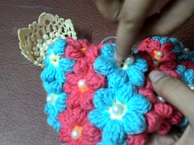 How to Sew Pearl Beads - Crochet